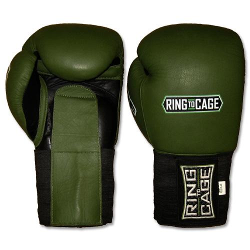 Ring To Cage MiM Foam Sparring Gloves (Velcro/Elastic Cuff)